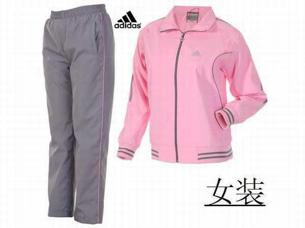 jogging adidas om,survetement adidas gris coton,jogging adidas femme zalando